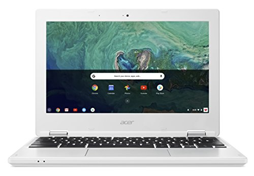 Acer Chromebook 11 CB3-132 - (Intel Atom x5-E8000, 2GB RAM, 16GB eMMC, 11.6 inch HD Display, Google Chrome OS, White)