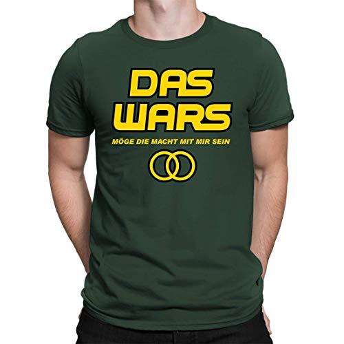 Camiseta de despedida de soltero, con texto en alemán