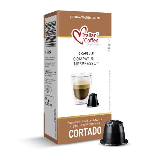 60 Capsule caffè macchiato cortado compatibili Nespresso®* Italian Coffee