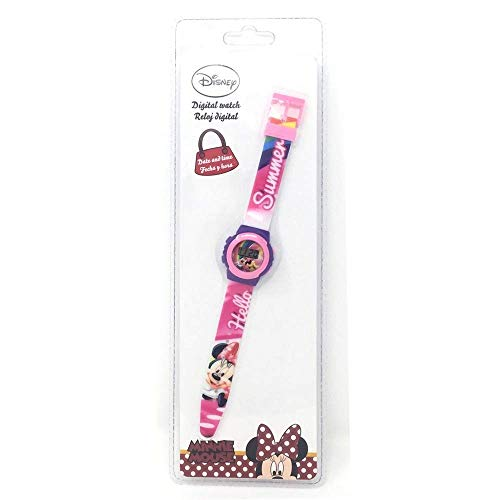 Minnie Mouse Reloj Digital (WD20359), Multicolor (Kids Licen