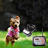 JUSTPET Dog Wireless Fence & Training Collar Outdoor 2-in-1 System,...
