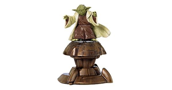 2002 Saga Collection Yoda Jedi Action Figure #23 3.75 Inches hasrbo 84615 Star Wars