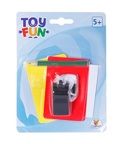 The Toy Company 008.910.7 Toy Fun Schiedsrichter-Set, 5-teilig