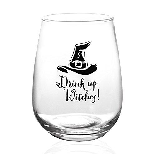 witch wine glass - 3