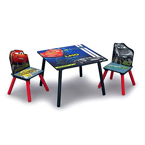 Disney/Pixar Cars Wood Kids Table and Chair Set by Delta Children