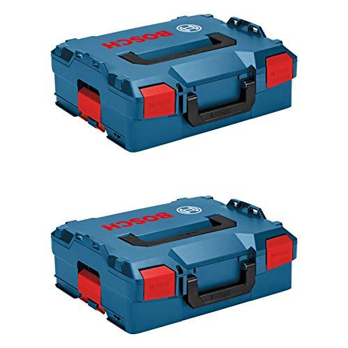 Bosch Professional Koffersystem 2x L-BOXX 136 (Ladevolumen: 14,7 Liter, max. Belastung: 25 kg, Gewicht: 1,9 kg, Material: ABS Plastik, PA6 Kunststoff)