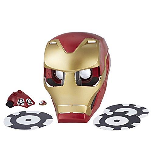 Marvel Avengers- Hero Vision Iron Man Realidad Aumentada, Talla nica (Hasbro E0849175)