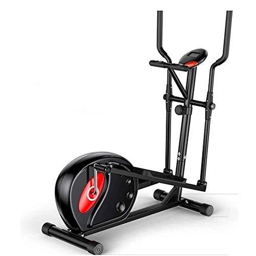 LYYJIAJU Stepper Fitness per Utilizzo a Casa Ellittica Cross Training Macchina, Spinning Tapis roulant ellittica Formazione Macchina, 8 Speed-Regolazione della Resistenza