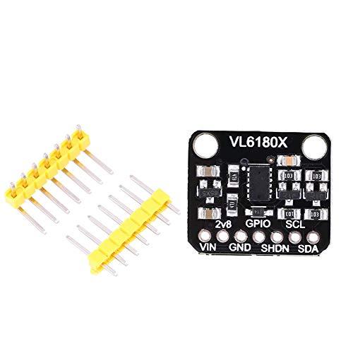 VL6180X Entfernungsmesser, optisches Entfernungssensor-Modul, Entfernungsmesser-Modul für Näherungserkennung, Entfernung, Gestenerkennung, Spannungseingangsbereich 3-5 V