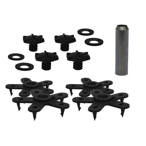 Eagle Klaw - Floor Mat Clips Set of Anti-Slip Fixing Retainers for Car Mats