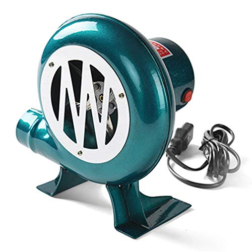 Soplador Eléctrico de 48 V CC para Soplador de Alambre de Cobre Centrífugo de Palomitas de Maíz para Barbacoa al Aire Libre (40W / 60W / 80W / 100W)