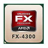 AMD FX Series FX-4300 (4X 3.80GHz) FD4300WMW4MHK CPU Sockel AM3+ #36235