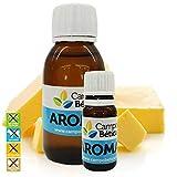 Aroma concentrado Mantequilla Pastelería y Repostería creativa: Glaseados, Helados, Horneados, Cremas, Macarons (100 ml)