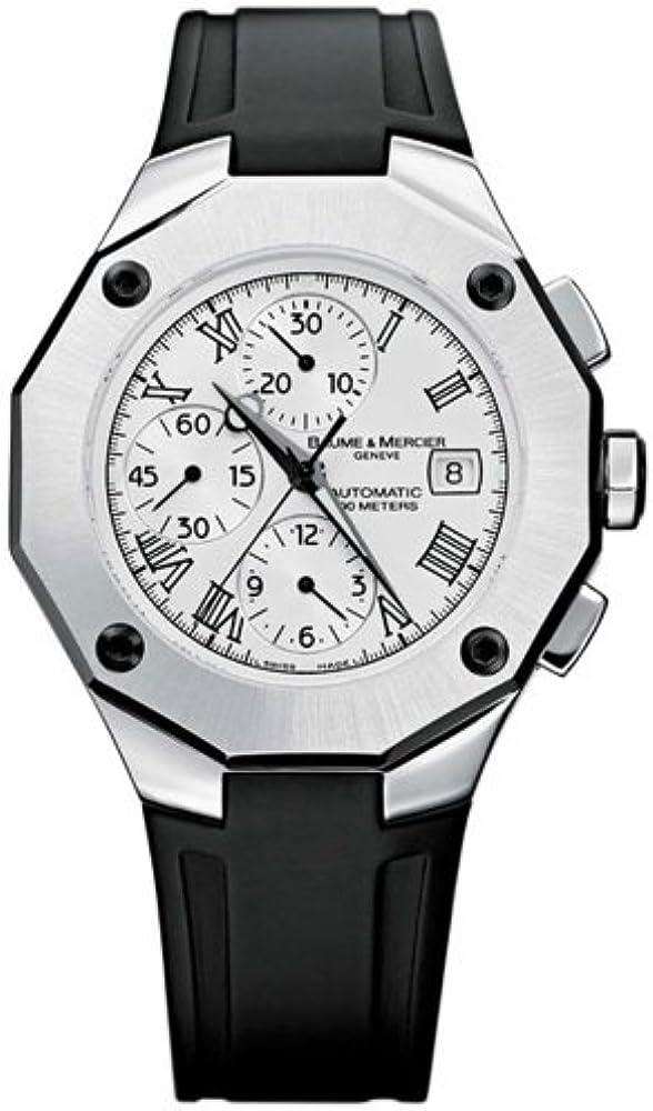 Baume & mercier orologio automatico riviera 8628