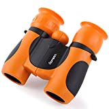 Binoculars for Kids High Resolution Best Gifts for 3-12 Years Boys Girls 8x21 - Adventure Toys Green Mini Compact Binocular Toys Kids Binoculars for Bird Watching, Hiking, Hunting, Outdoor Games