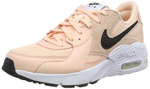 Nike Wmns Air MAX excee, Zapatillas para Correr Mujer, Washed Coral/White/Black, 36 EU
