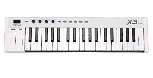 MIDIPLUS X6 mini –Mini controlador de teclado, Blanco