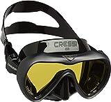 Cressi A1 Mask Lens Antifog Máscara de Buceo y apnea antivaho de...