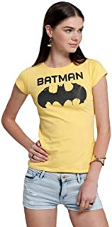 Character T-Shirts For Women, Yellow L