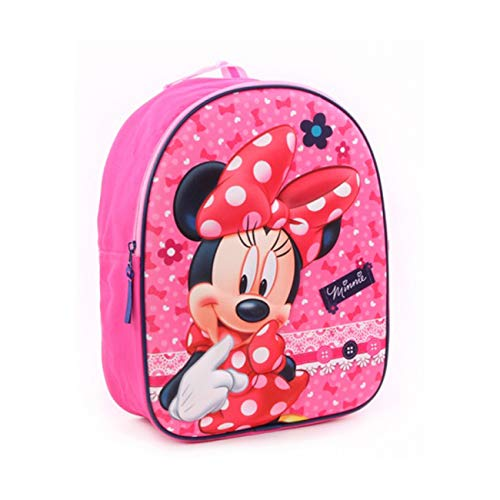 Disney Minnie Mouse 3D Kindergartenrucksack - Dotty about Dots - Rosa
