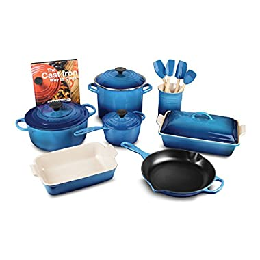 Le Creuset 16-piece Cookware Set (Marseille)