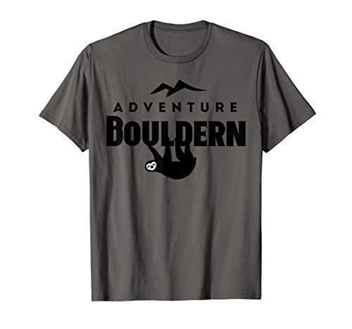 Boulder - perezoso divertido - escalada en búlder Camiseta