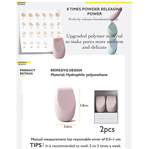 YQ Beauté Maquillage Oeufs Ne Pas Manger en Poudre, Farine Super Soft Cut, Humide et Sec à Double Usage Maquillage éponge Oeufs (Color : ABS Beauty Egg Storage Rack)