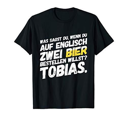 Herren Tobias Bier Mallorca Saufen Lustiger Spruch T-Shirt
