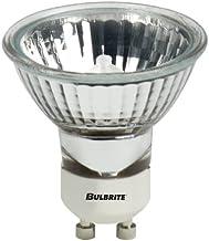 Bulbrite FMW/GU10 35-Watt Halogen MR16, 120V, GU10 Twist and Lock Base 38 Degree Flood Light, 35w-Clear