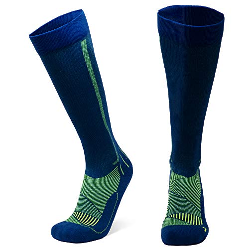 DANISH ENDURANCE Graduated Compression Socks (Black 1 Pair, US Women 5-7 // US Men...
