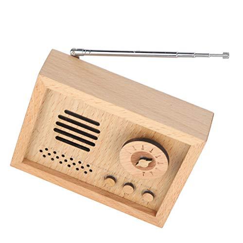 Fournyaa Decoración de Caja de música de Madera, Caja Musical de Madera...