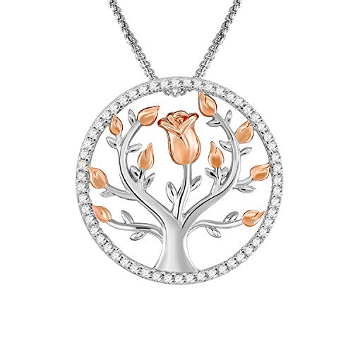 (61% OFF Coupon) Rose Necklace $8.19