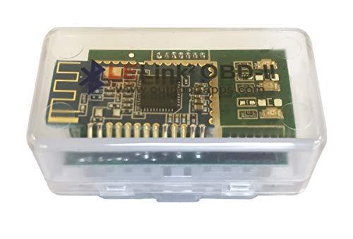 Outil de diagnostic pour voiture BLE OBD-II de Lelink - Configurable - Marche/Arrêt automatique - Bluetooth - Faible consommation d'énergie - Pour iPhone/iPod/iPad et Android