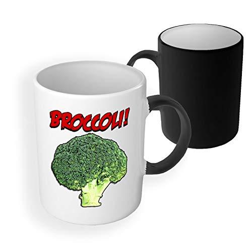 Broccoli Voedsel Gezondheid Leven Stijl Magische Koffie Mok Keramische Theekop Kantoor en Thuis Aanwezig Uniek Cadeau