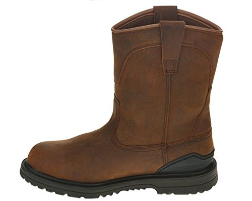 Herman Survivor Men's Bison Steel Toe Waterproof Brown Work Boot (11 D(M) US)