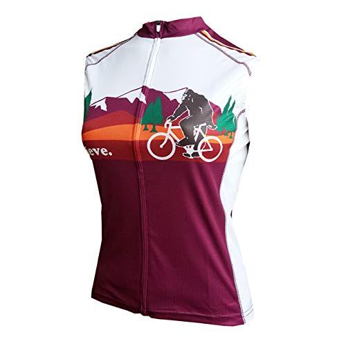 Peak 1 Sports Bigfoot Women's Sleeveless Cycling Jersey XL - Women's Purple