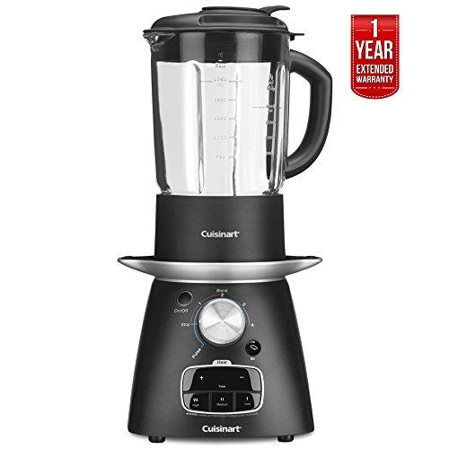 Cuisinart SBC-1000FR Soup Maker Blender, Blend Cook 1 Year Extended Warranty - (Renewed)