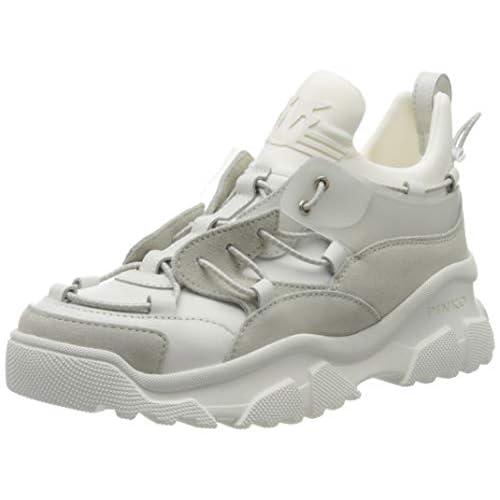 Pinko Cumino, Sneaker Infilare Donna, Bianco (Bianco Brillante Z04), 41 EU
