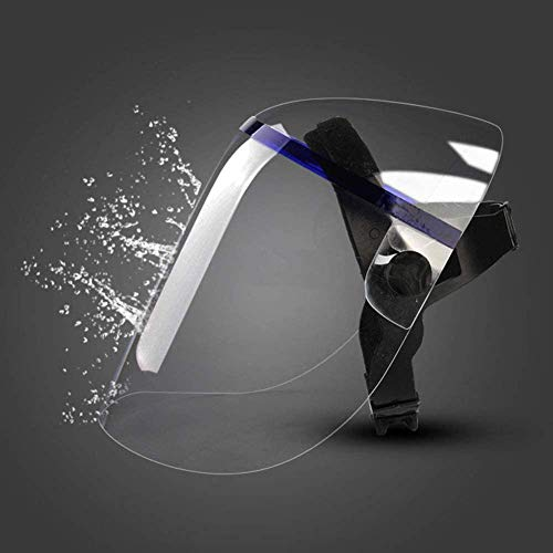 Visiera trasparenteMaschera sudore in plexiglass completamente sigillatoProtezione cucinaMaschera mobile Visiera mobileProtezione degli occhi