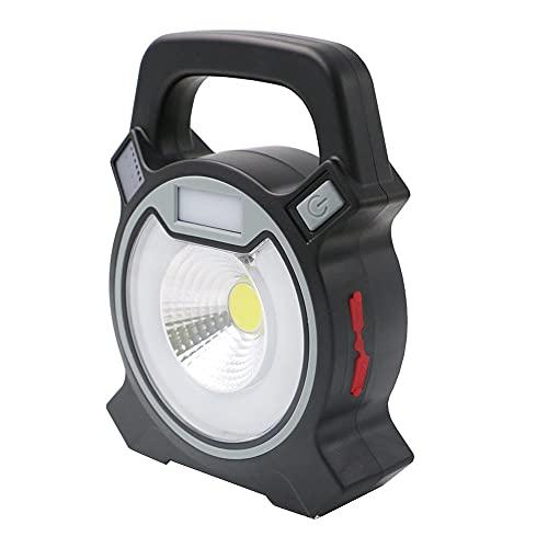 YDJGY LED Linterna Camping,USB Recargable y PortáTil LáMpara de Emergencia para Carpa,4 Modos de Luz,IPX4 a Prueba de Agua,Luz de Trabajo ABS,Linterna EléCtrica para Senderismo,HuracáN,Emergencia