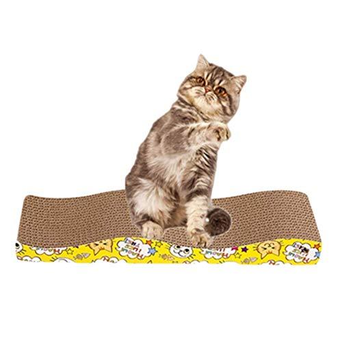 Arañazos de cartón del gato del gato Rascador la estera del gato Rascar la Junta gatos Rascadores Gato Mensajes de Scratch gatito arañazos mensaje del rasguño del anuncio del anuncio del rasguño de ga