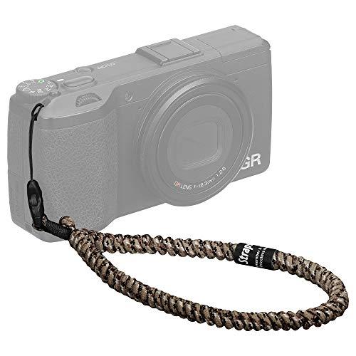 HAKUBA カメラストラップ STRAPS リストストラップ スリム コンパクトカメラ・チェキ(instax)・スマートフォン用 パラコード編み セレンゲティ KSTPS-WL1-SGT