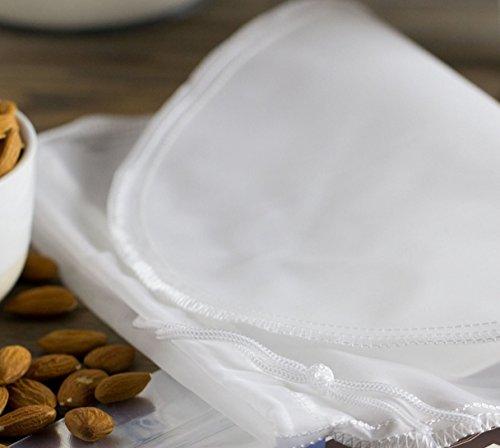 Compra Premium Nogal Leche Bolsa/ – Trapo para hacer leche vegana alternativas de 100% nailon, mejor calidad, para hacer de Natural y saludable Leche y nogal, leche Bolsa Exprimir El de frutas