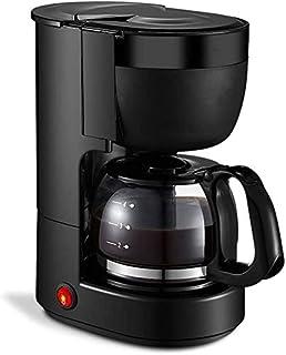 Faus Koco E Machine Espresso Copa, Copa de 5 Personas Automático Hogar Pequeña Máquina Aislada E (Color : Black)