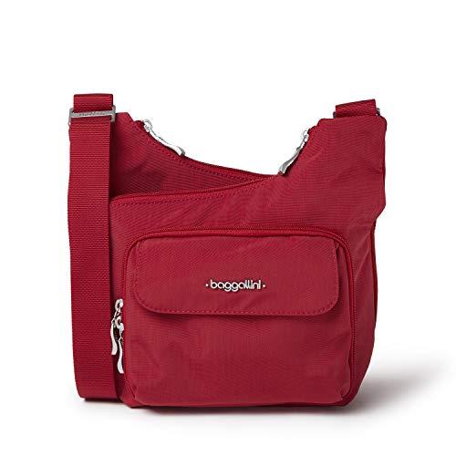 Baggallini unisex adult Criss cross body handbags, Apple, One Size US