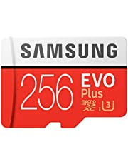 Samsung EVO Plus Micro SD卡 256GB microSDXC UHS-I U3 100MB/s Full HD & 4K UHD Nintendo Switch 操作已確認 MB-MC256HA/EC 國內正規保證