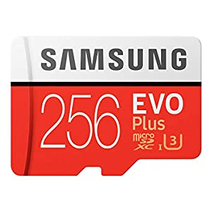 Samsung EVO Plus マイクロSDカード 256GB microSDXC UHS-I U3 100MB/s Full HD & 4K UHD Nintendo Switch 動作確認済 MB-MC256HA/EC 国内正規保証品