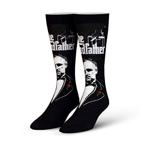 ODD SOX Unisex The Godfather Vito Corleone Socks Black