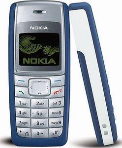 Nokia 1110 - Telefono cellulare, colore: blu