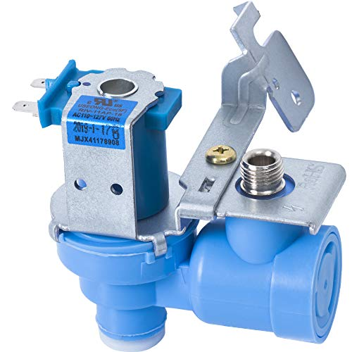 Ultra Durable MJX41178908 Refrigerator Water Inlet Valve by Blue Stars – Exact Fit for LG & Kenmore Refrigerators